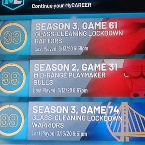 NBA 2K20 Account W. Three 99 Overalls/Max Badges